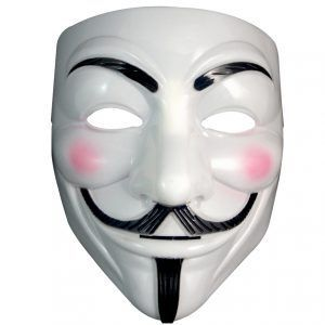MASKA ANONYMOUS VENDETTA STOP ACTA HALLOWEEN