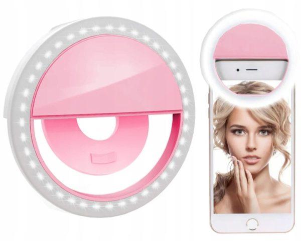 lampa pierścieniowa do telefonu selfie