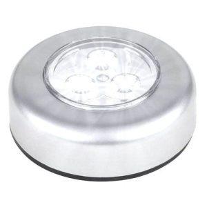 LAMPKA 3x LED SAMOPRZYLEPNA NA BATERIE DOTYKOWA