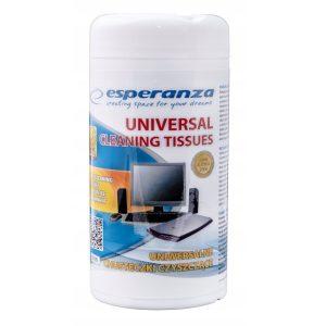 uniwersalne wilgotne chusteczki czyszczące