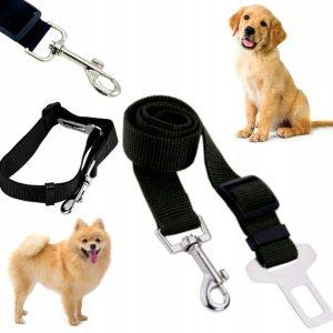 pas bezpieczeństwa dla psa samochodowy