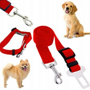 smycz pas bezpieczeństwa samochodowy do samochodu dla psa