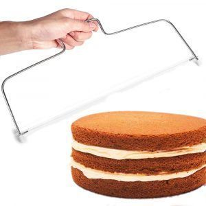 NÓŻ STRUNOWY DO CIĘCIA CIASTA TORTU BISZKOPTU MOC