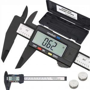 SUWMIARKA ELEKTRONICZNA CYFROWA POMIAROWA LCD+ETUI