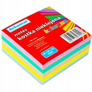 karteczki kolorowe
