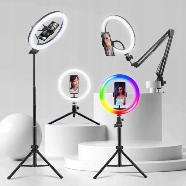 lampa pierścieniowa do selfie