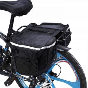 torba rowerowa sakwa na rower