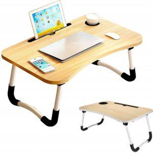 składany stolik pod laptopa