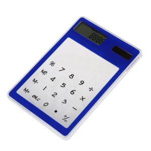 przezroczysty kalkulator solarny