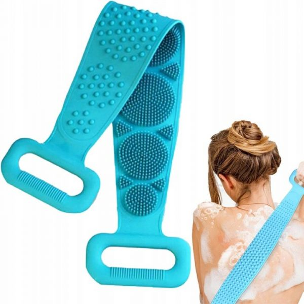 silikonowa szczotka do mycia pleców masażer