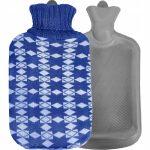 termofor w sweterku pokrowcu gumowy