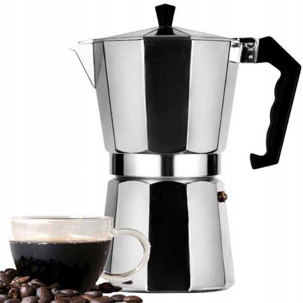 duża kawiarka włoska zaparzacz do kawy