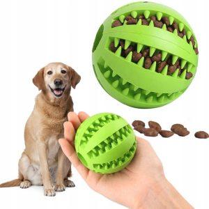 piłka zabawka dla psa gryzak na przysmaki