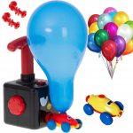 wyrzutnia balonów samochód aerodynamiczny dla dzieci